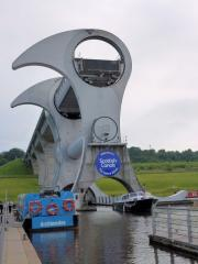 Eventbild Falkirk Wheel